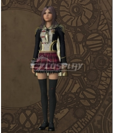 Final Fantasy type-0 Rem Tokimiya Military Uniform Cosplay Costume