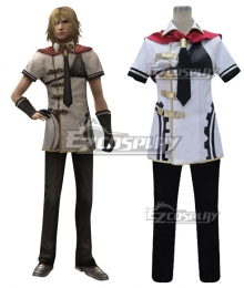 Final Fantasy type-0 Trey Summer Uniform Cosplay Costume