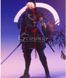 Final Fantasy Type-0 Type Next Ace Samurai Cosplay Costume