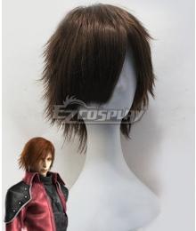 Final Fantasy VII FF7 Crisis Core Genesis Brown Cosplay Wig