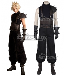 Final Fantasy VII FF7 Remake Cloud Strife Cosplay Costume