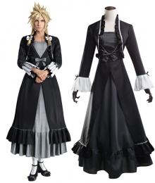 Final Fantasy VII Remake Cloud Strife Girl Cosplay Costume