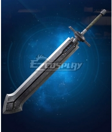 Final Fantasy VII Remake Cloud Strife Iron Blade Cosplay Weapon Prop