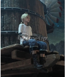 Final Fantasy VII Remake Cloud Strife Young Cosplay Costume