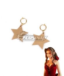 Final Fantasy VII Remake FF7 Aerith Gainsborough Earring Cosplay Accessory Prop