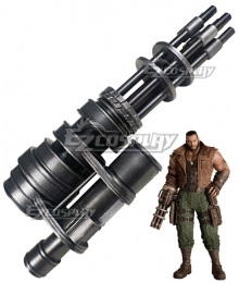 Final Fantasy VII Remake FF7 Barret Wallace Gun Cosplay Weapon Prop