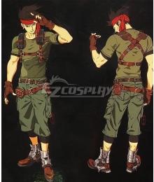 Final Fantasy VII Remake FF7 Biggs Cosplay Costume