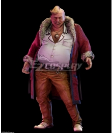 Final Fantasy VII Remake FF7 Don Corneo Cosplay Costume