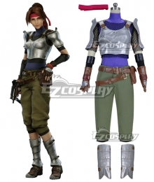 Final Fantasy VII Remake FF7 Jessie Cosplay Costume