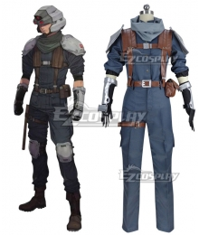 Final Fantasy VII Remake FF7 Shinra Security Officer Cosplay Costume