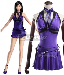 Final Fantasy VII Remake FF7 Tifa Lockhart Mature Dress Cosplay Costume