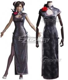 Final Fantasy VII Remake Tifa Lockhart Cheongsam Cosplay Costume