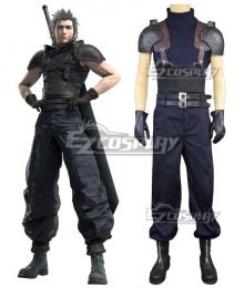 Final Fantasy VII Remake Zack Fair Crisis Core Cloud Strife Cosplay Costume