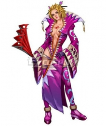 Final Fantasy X-2 Leblanc Cosplay Costume