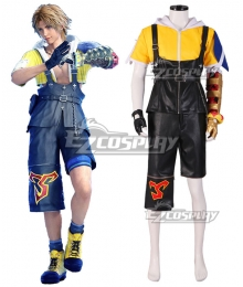 Final Fantasy X FF10 FFX Tidus Cosplay Costume