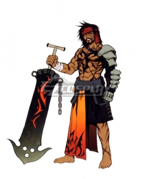 Final Fantasy X FF10 Jecht Cosplay Costume