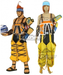 Final Fantasy X FF10 Wakka Cosplay Costume