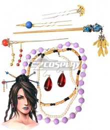Final Fantasy X Lulu Full Set of Accessories Cosplay Accessory Prop