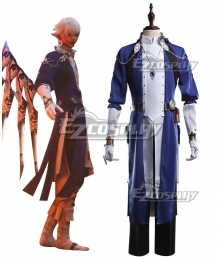 Final Fantasy XIV 6.0 Endwalker FF14 Alphinaud Leveilleur Cosplay Costume