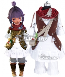 Final Fantasy XIV: A Realm Reborn Lalafell Cosplay Costume