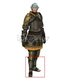Final Fantasy XIV FF14 Haurchefant Greystone Gray Shoes Cosplay Boots