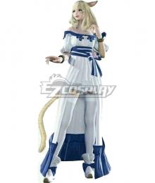 Final Fantasy XIV FF14 Spring Dress Miqo'te Cosplay Costume
