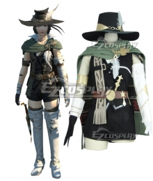 Final Fantasy XIV FF14 Travelling Poet Level 80 Cosplay Costume
