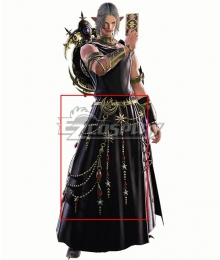 Final Fantasy XIV FF14 Urianger Augurelt Full Cosplay Accessory Prop