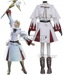 Final Fantasy XIV FF14 White Mage New Edition Cosplay Costume