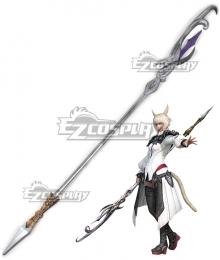 Final Fantasy XIV FF14 Y'shtola Rhul Yshtola Rhul Staff Cosplay Weapon Prop