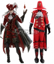 Final Fantasy XIV Red Mage Cosplay Costume