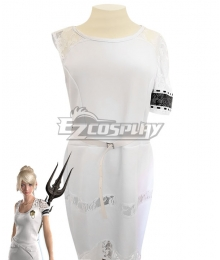Final Fantasy XV: A New Empire FF15 Lunafreya Nox Fleuret Dress Cosplay Costume