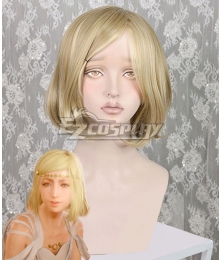 Final Fantasy XV DLC Episode Ardyn FF15 Aera Mils Fleuret Golden Cosplay Wig