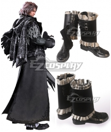 Final Fantasy XV FF15 Ardyn Izunia Black Shoes Cosplay Boot