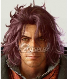 Final Fantasy XV FF15 Ardyn Izunia Purple Cosplay Wig