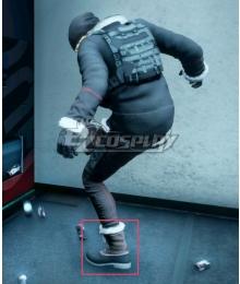 Final Fantasy XV FFXV FF15 DLC Episode Prompto Prompto Argentum Black Shoes Cosplay Boots