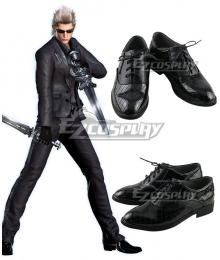 Final Fantasy XV Ignis Stupeo Scientia Black Cosplay Shoes