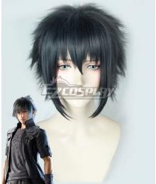 Final Fantasy XV Noctis Lucis Caelum Black Blue Cosplay Wig
