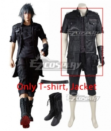 Final Fantasy XV Noctis Lucis Caelum Cosplay Costume - Only T-shirt and Jacket