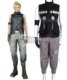 Final Fantasy XV Prompto Argentum Cosplay Costume - B Edition