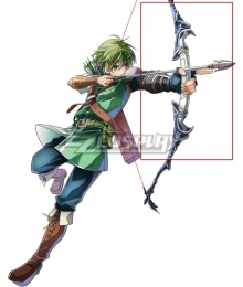 Fire Emblem Altean Archer Gordin Bow Cosplay Weapon Prop