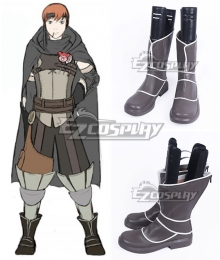Fire Emblem Awakening Gaius Black Shoes Cosplay Boots