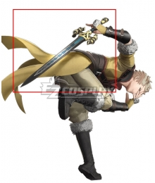 Fire Emblem Awakening Owain Sword Cosplay Weapon Prop
