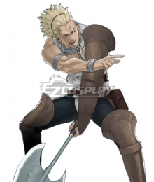 Fire Emblem Awakening Vaike Cosplay Costume