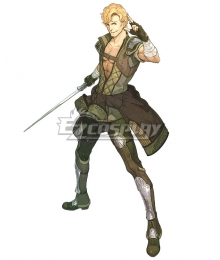 Fire Emblem Echoes: Shadows of Valentia Jesse Cosplay Costume