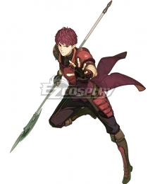 Fire Emblem Echoes: Shadows of Valentia Lukas Cosplay Costume