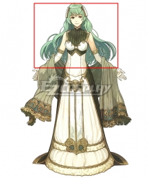 Fire Emblem Echoes: Shadows of Valentia Tatiana Green Cosplay Wig