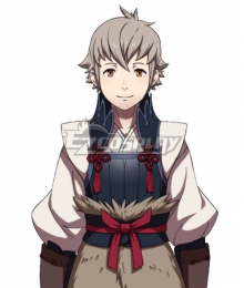 Fire Emblem Fates if Birthright Conquest Kiragi Cosplay Costume