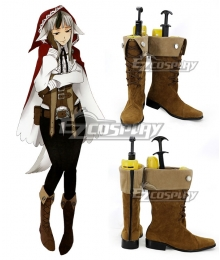 Fire Emblem Fates IF Velouria Shoes Cosplay Boots