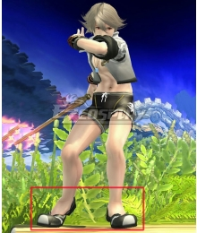 Fire Emblem Fates Male Corrin Summer Outfit Black Cosplay Shoes